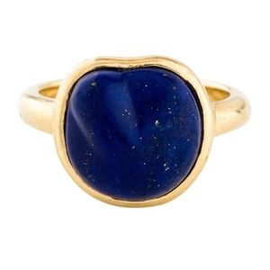 Tiffany & Co. 18K Lapis Lazuli Nugget Ring